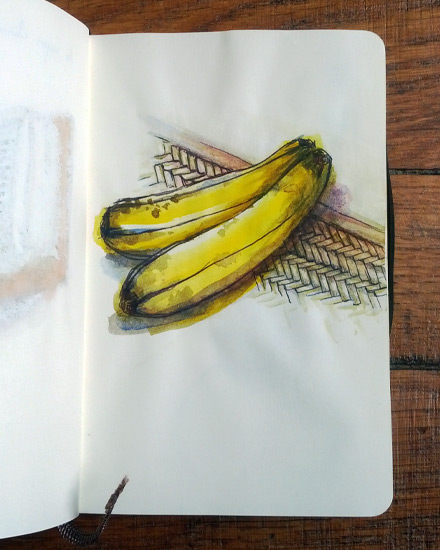 Madagascar bananas