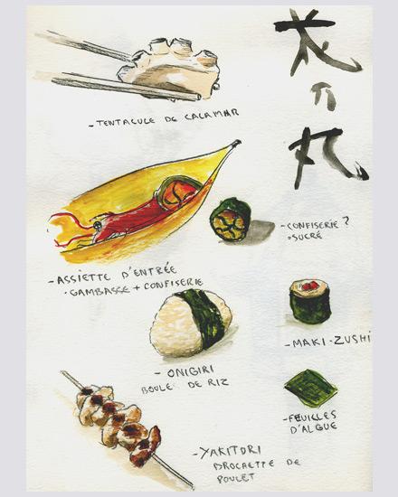 japon dessins